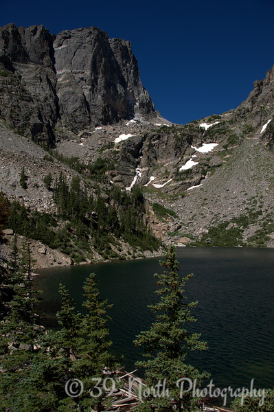 Emerald Lake and Hallett Peak